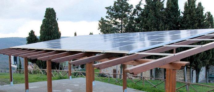 28 Supporto per pannelli solari